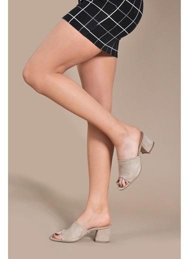 Vizon Ayakkabı Terlik Ten